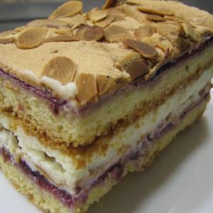 Рецепты польской кухни - Торт Пани Валевская