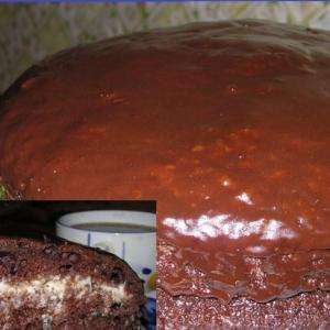 Молочные продукты - Торт Шоколадная радость
