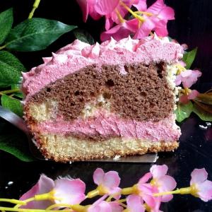 Кокос - Торт сметанный Розовые сны