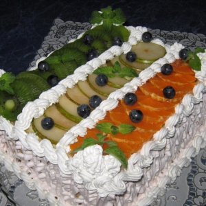 Перепелиное яйцо - Торт Тропиканка