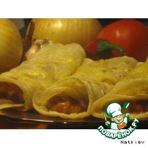 Рецепты мексиканской кухни - Тортильи с фасолью