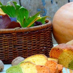 Шпинат - Трехцветный хлеб