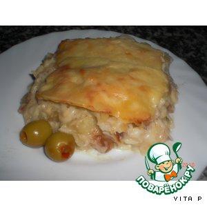 Рецепты португальской кухни - Треска со сливками - Bacalhau com natas