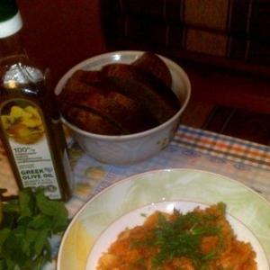 Рецепты греческой кухни - Тушеная капуста с рисом по-гречески Лаханоризо