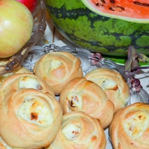 Изюм - Творожные булочки Розочки