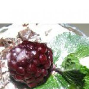 Ежевика - Творожный десерт