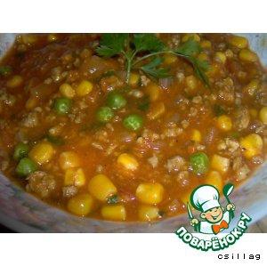 Рецепты мексиканской кухни - Тыквенное рагу по-мексикански