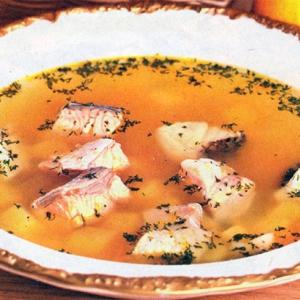Рецепты супов - Уха из судака