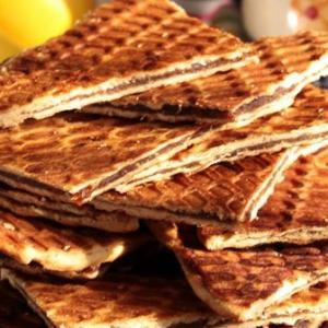 Финик - Вафельные сэндвичи с финиковой пастой