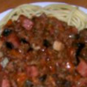 Подберезовик - Вариант соуса для спагетти -имитация болоньезе