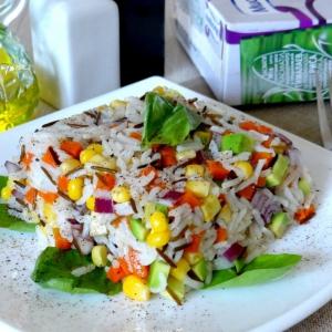 Авокадо - Вегетарианский салат Нежный