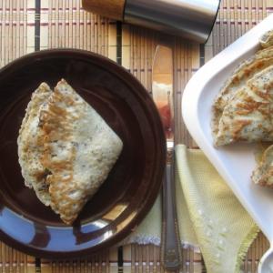 Печень - Венгерские маковые блины с куриной печенью