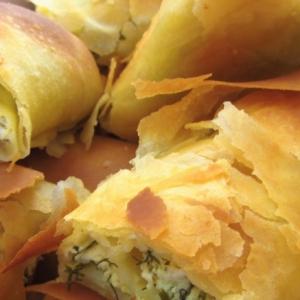 Рецепты молдавской кухни - Вертута с творогом из вытяжного теста