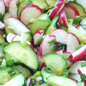Весенний салат по-молдавски