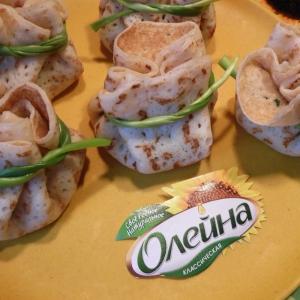 Шпинат - Ветчинно-шпинатная начинка к блинам
