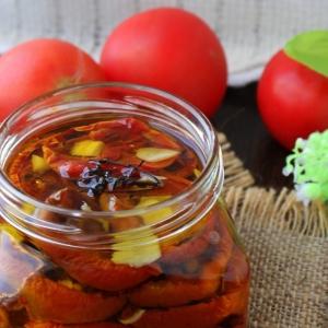 Имбирь - Вяленые помидоры с имбирем