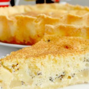 Мак - Яблочно-маковый пирог