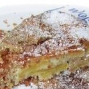 Яблоко - Яблочно-миндальный пирог