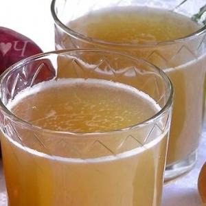 Нектарин - Яблочно-нектариновый морс с мятным сиропом