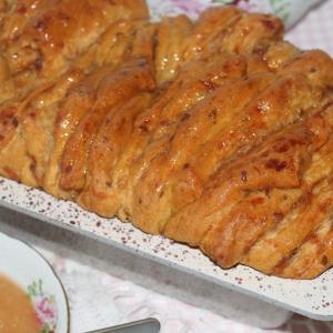 Тыква - Яблочно-тыквенный хлеб к чаю