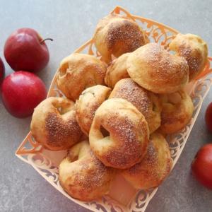 Маргарин - Яблочные пирожки из сырного теста
