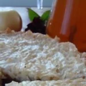 Мята - Яблочный пирог на овсяном корже