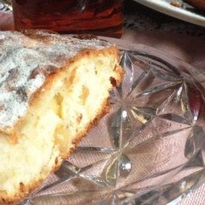 Имбирь - Яблочный пирог с имбирём