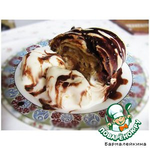 Мороженое - Яблочный штрудель с мороженым
