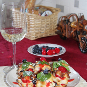 Тесто - Ягодный десерт