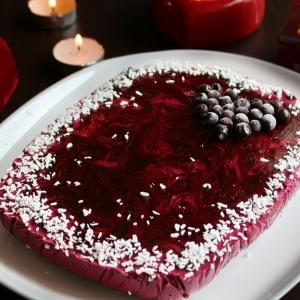 Гранат - Ягодный торт с хрустящей основой