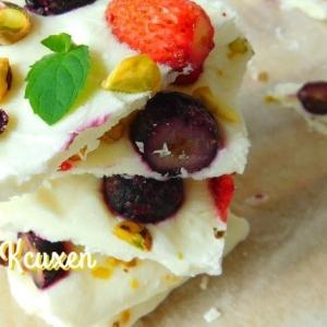 Черника - Йогурт и десерт Йогуртовая корочка