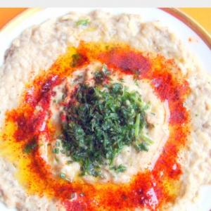 Рецепты арабской кухни - Закуска из баклажанов Баба гануш