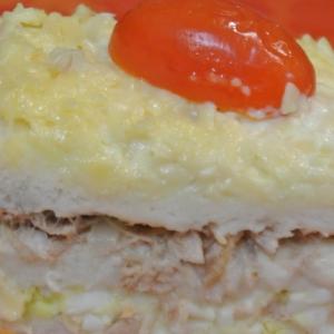 Хлеб - Закуска с тунцом