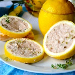 Анчоус - Закуска с тунцом
