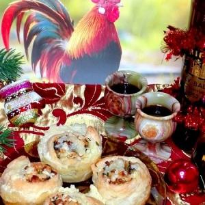 Тесто - Закусочные булочки с курицей и чечевицей