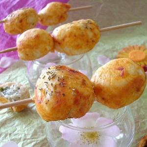 Лавровый лист - Закусочные шашлычки с мясом и козьим сыром