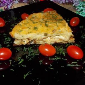 Мускатный орех - Закусочный картофельный пирог