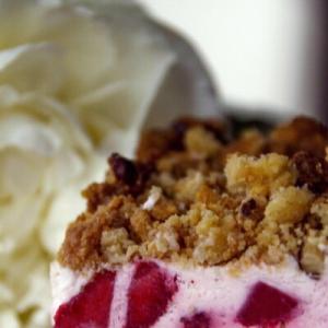 Клубника - Замороженный десерт Клубника со сливками