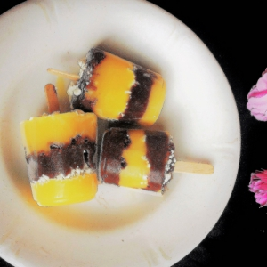 Йогурт - Замороженный шоколадно-банановый йогурт