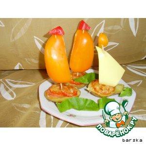 Апельсиновая корка сушеная (апельсиновая цедра) - Запечeнный картофель