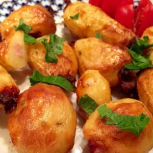 Шалфей - Запечённый картофель с беконом и чесноком