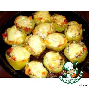 Капуста белокачанная - Запечeнный  картофель (с овощами  и  грибами)