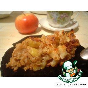 Пользователи - Запеканка яблочная с печеньем