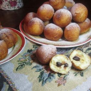 Миндаль - Заварные пончики