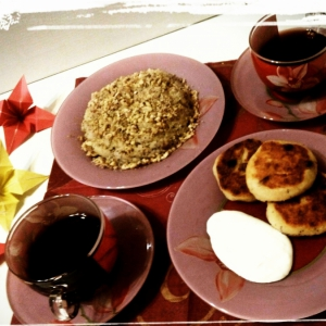 Мак - Завтрак из кус-куса Напополам