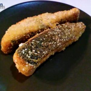 Кунжут - Жареная рыба в интересной панировке