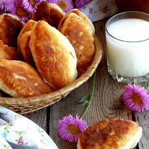 Легкое - Жареные пирожки с ливером и картофелем