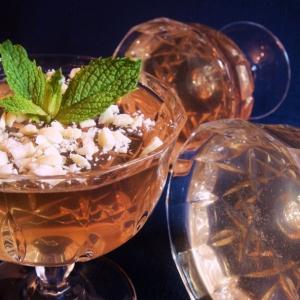 Шампанское - Желе из шампанского «Розовый лeд»