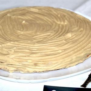 Рецепты французской кухни - Женуаз с масляно-меренговым кремом