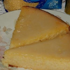 Пшено - Золотистый пирог-суфле «Загадка»